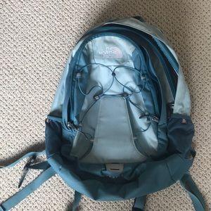 Handbags - Blue North face backpack